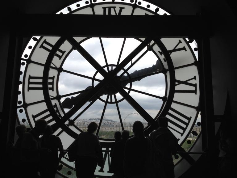 Musee D'Orsay Clock | The Polka-dot Maven