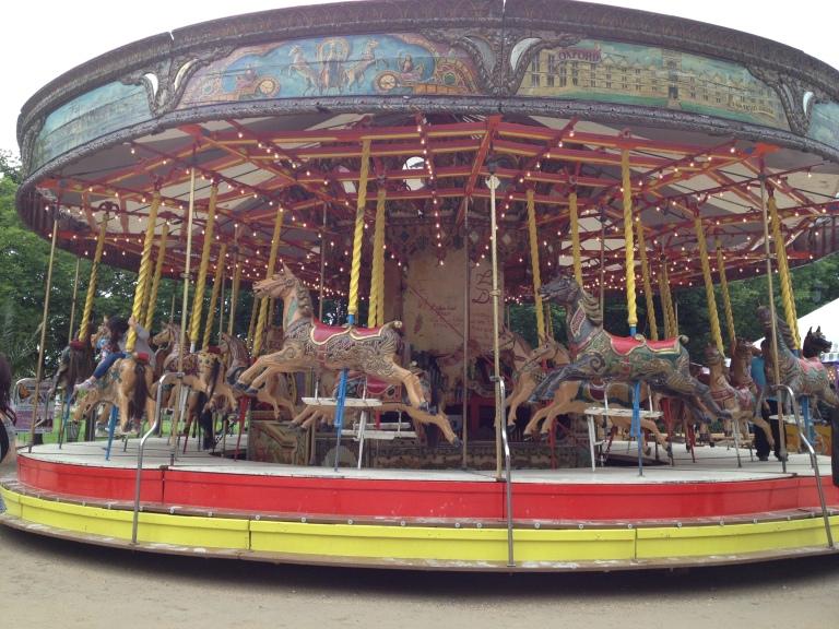 Carousel in Paris from The Polka-dot Maven